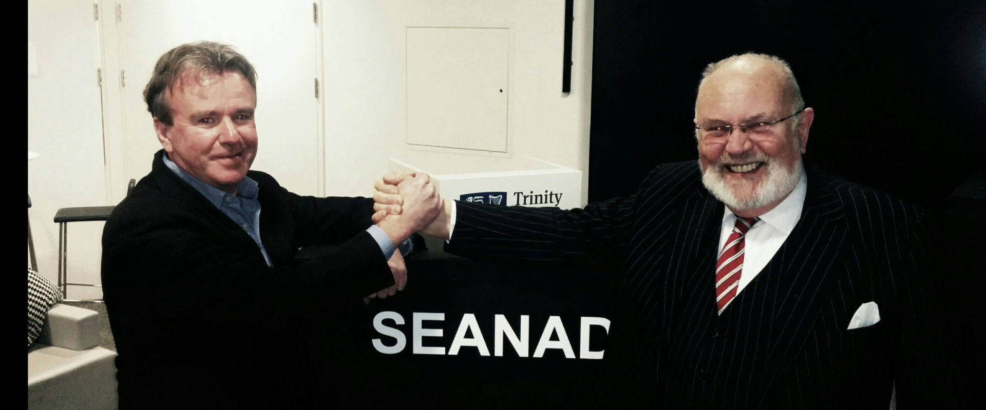 Tom Clonan and David Norris